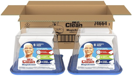 Magic Eraser by Mr. Clean Variety Pack, 6 Count (2-Pack)