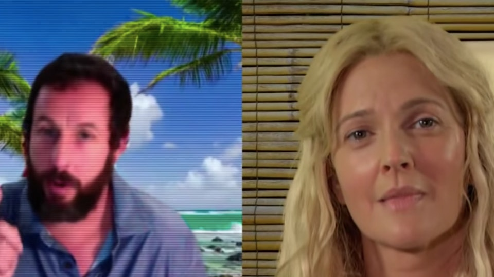Drew Barrymore reunited with Adam Sandler for a '50 First Dates' update.