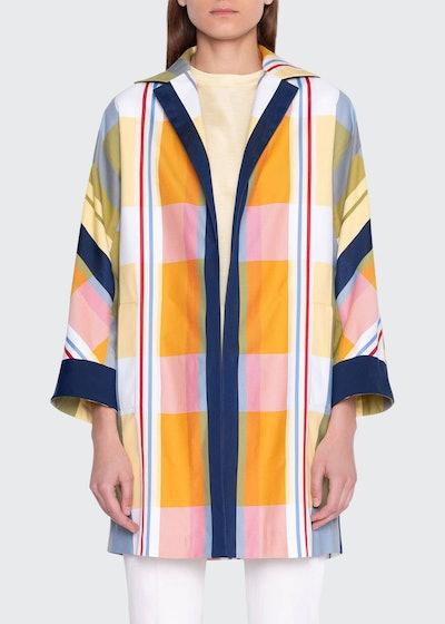 Plaid Duster Coat