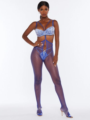 Savage x Fenty Commitment Issues Suspender Body Stocking