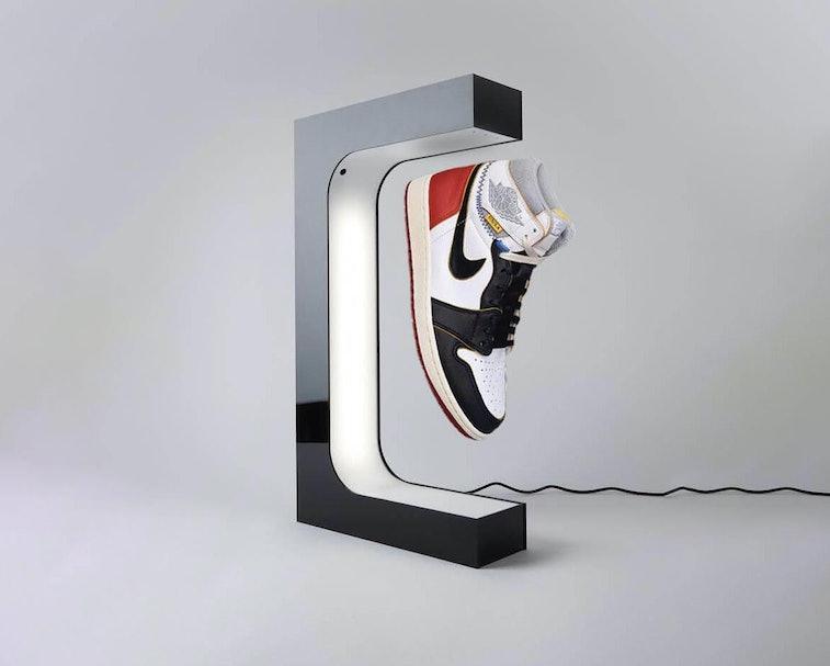 Hypelev levitating sneaker.
