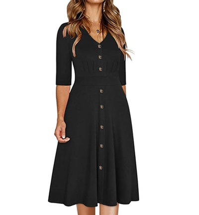 Ranphee Women's Button Down Dress