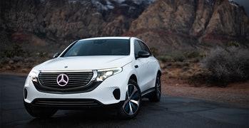 The Mercedes-Benz EQC, due out in December 2020 in the U.S.