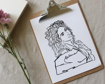 LA REINA Print
