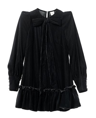 The Vampire's Wife Velvet mini dress