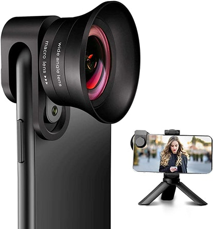 ANGFLY 4K 2 in 1 Wide Angle and Super Macro Lens