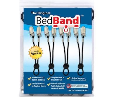 Bed Band Bed Sheet Holder (4 Bands)