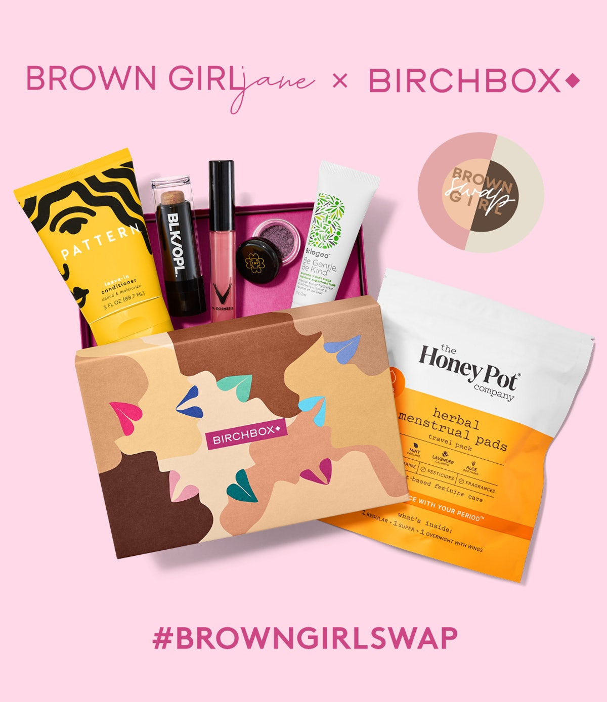 The Birchbox x Brown Girl Jane partnership amplifies the Brown Girl Swap Mission with a subscription...