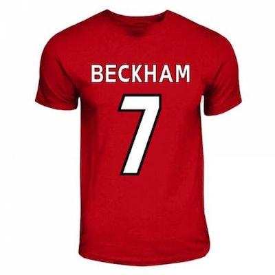 David Beckham Manchester United Hero T-Shirt