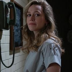 Victoria Pedretti as Dani in 'The Haunting of Bly Manor' via the Netflix press site