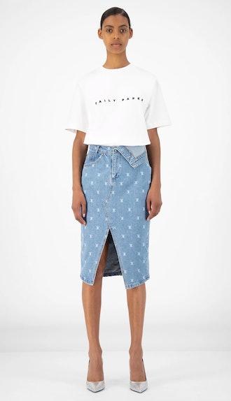 Denim Rehowi Skirt