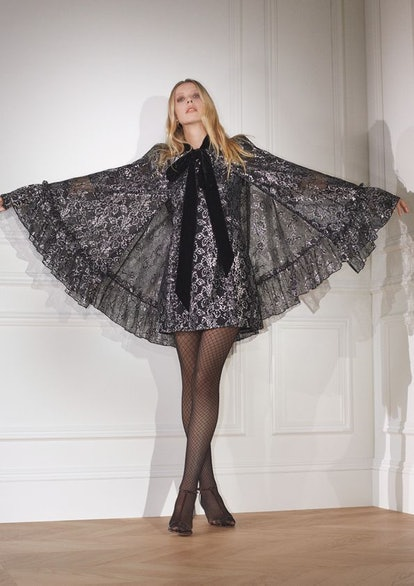 H&M x the Vampire's Wife Silver Lace Cape