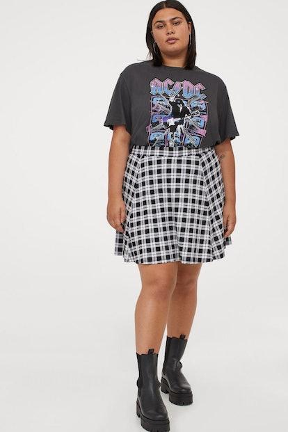 H&M+ Skater Skirt