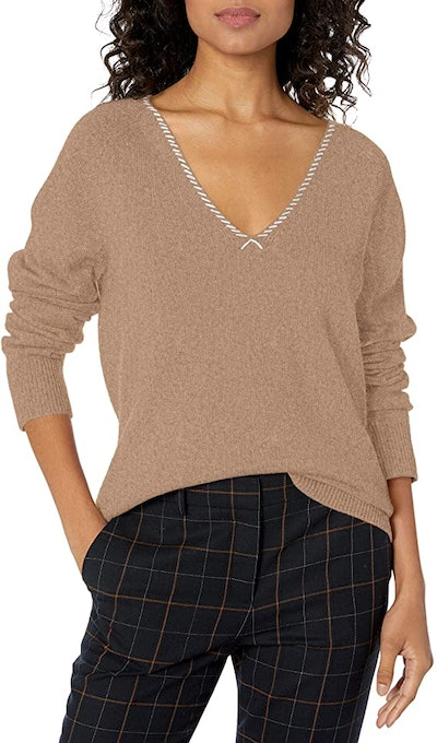 Paige Adalyn V-Neck Cashmere Sweater