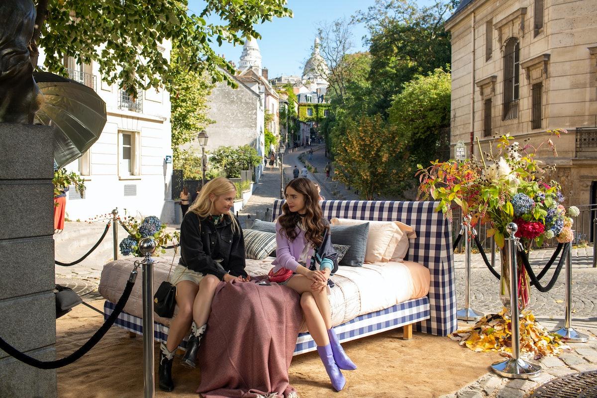 cast of 'Emily in Paris'