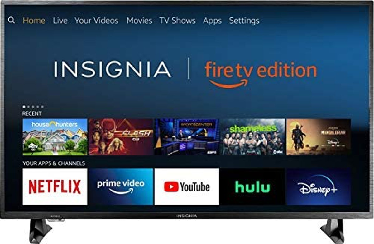 Insignia Smart HD TV Fire TV Edition, 32-inch