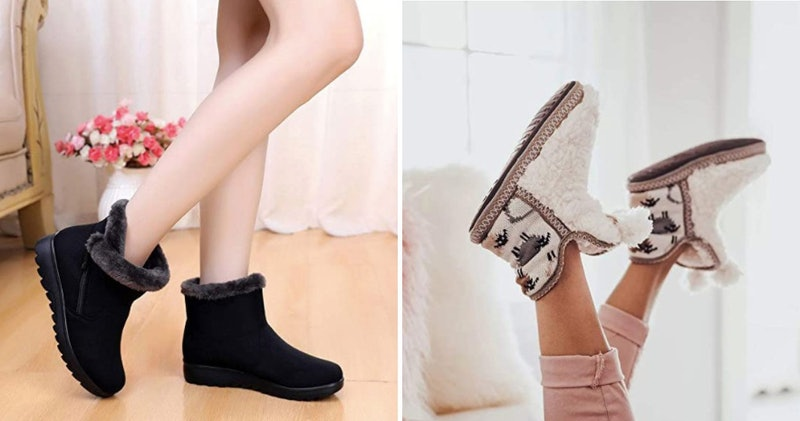 Super Cozy Boots You Can Lounge In & Wear Outside