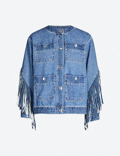 Fringe Denim Jacket