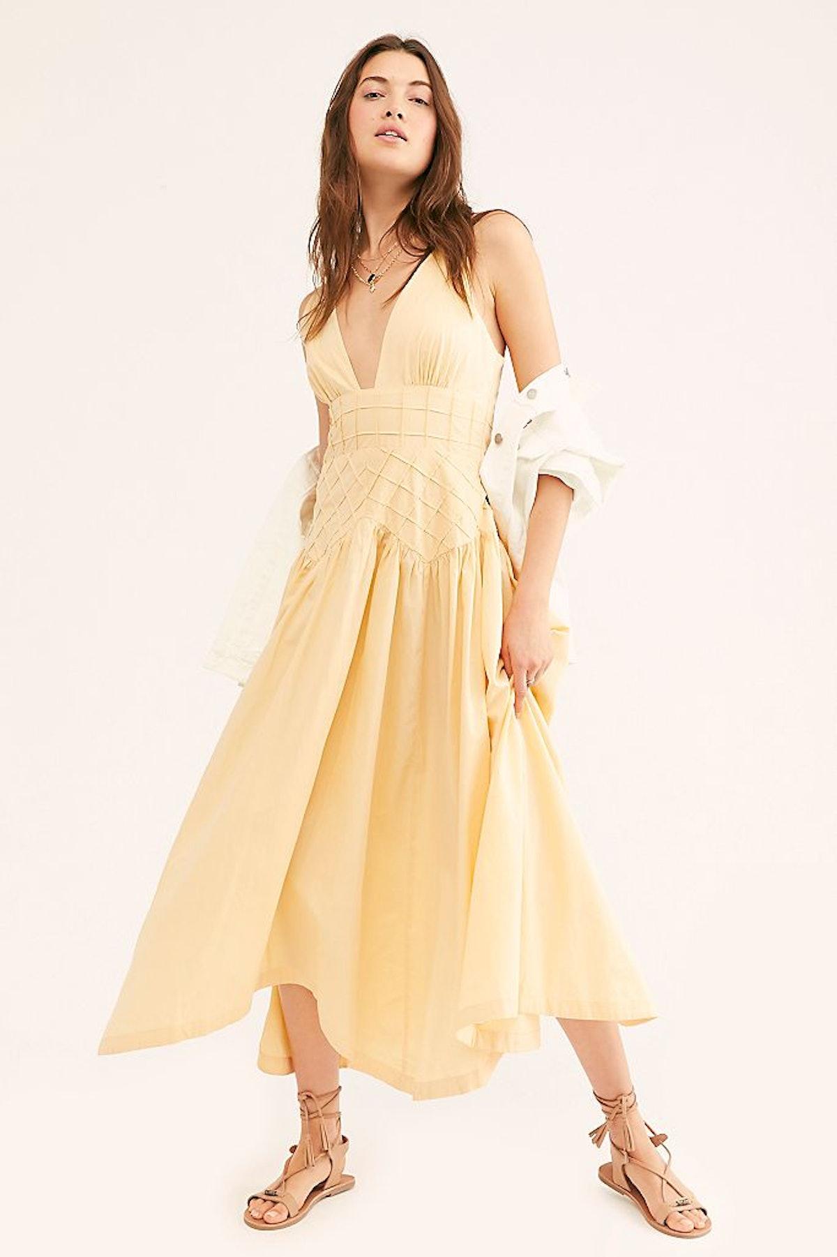Summer Queen Midi Dress