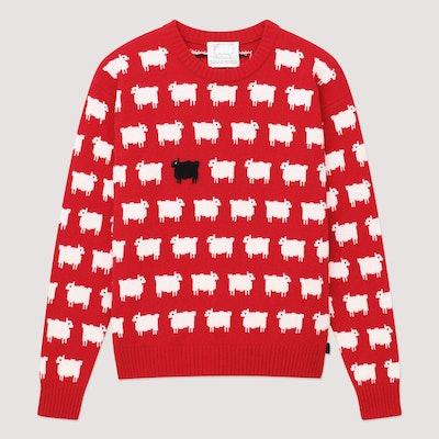 Warm & Wonderful x Rowing Blazers Sheep Sweater