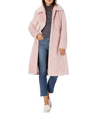 Vince Camuto Belted Long Coat