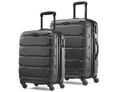 Samsonite Omni PC Hardside Expandable Luggage With Spinner Wheels (2-Piece Set)