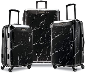 American Tourister Moonlight Hardside Expandable Luggage With Spinner Wheels (3 Pieces)