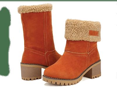 DOTACOKO Cute Warm Short Boots