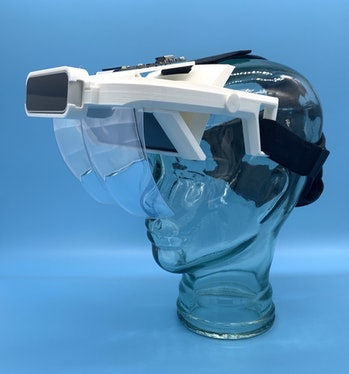 The Triton V1 is a 3D-printed AR headset.