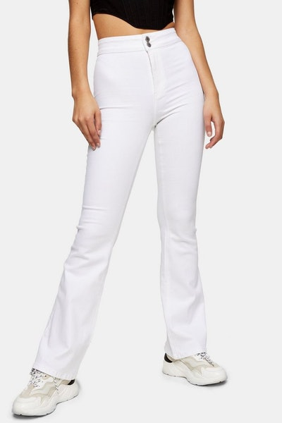 Three Stretch Flare Jeans