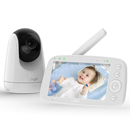 """VAVA Baby Monitor with 720P 5"""" HD Display Video"""