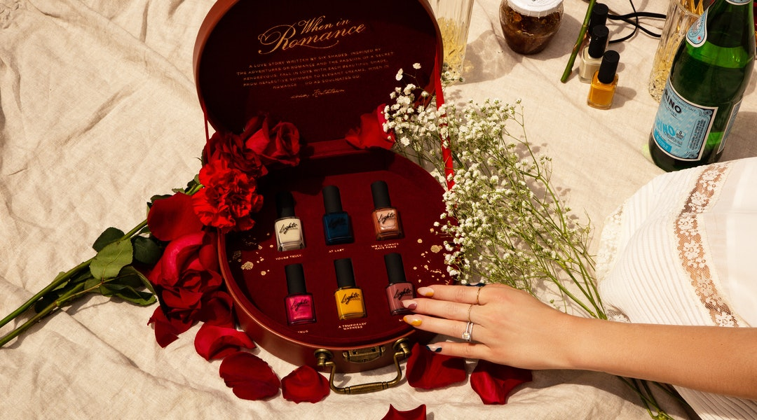 Lights Lacquer's fall When in Romance collection pays tribute to romance when it's needed the most