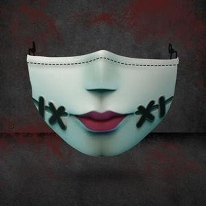 FongFanga Sally Ragdoll Halloween Horror Movie 3 Stretch to Fit 3D Mask