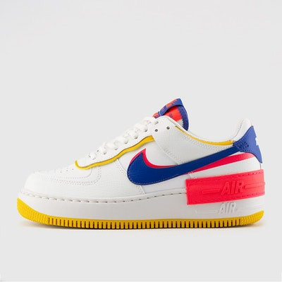 WOMEN'S AIR FORCE 1 SHADOW (SUMMIT WHITE | ASTRONOMY BLUE)
