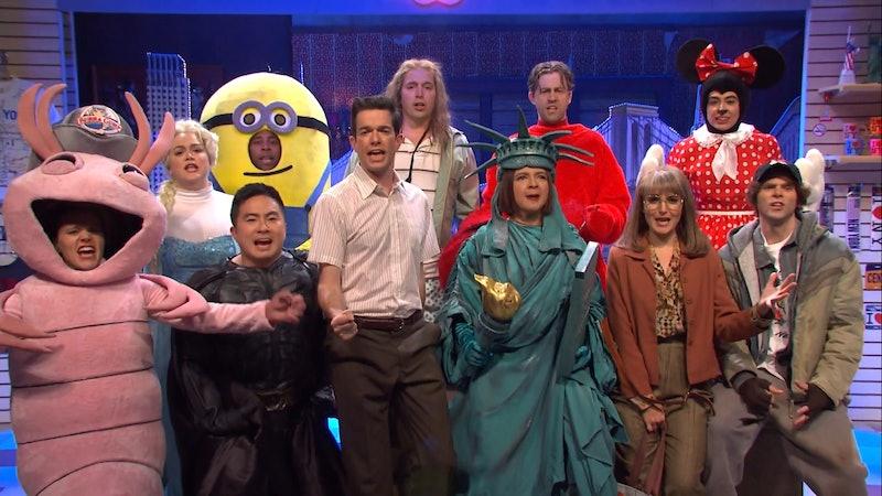 "The 'SNL' cast performs host John Mulaney's ""New York Musical"""
