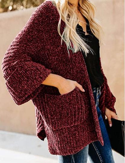 Dokotoo Chunky Knit Cardigan Sweater