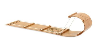 The Classic Wood Toboggan Sled (6ft)