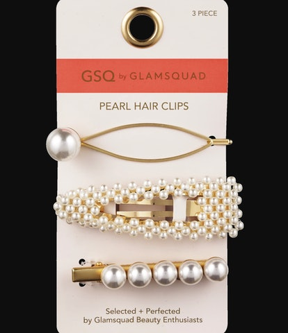 GSQ by GLAMSQUAD Pearl Hair Clips, 3CT