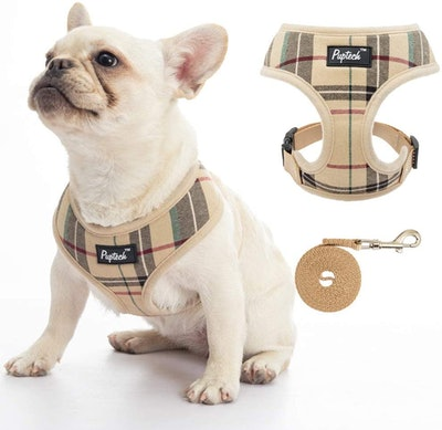 Pupteck Soft Comfort Padded Dog Harness