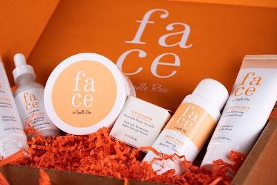 Face Skincare Recipe Box Set