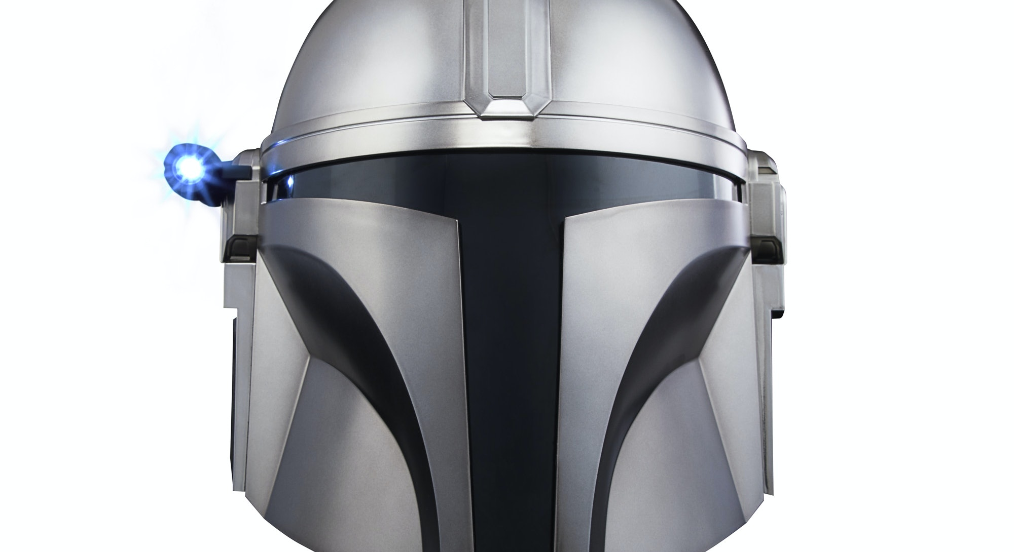 The Mandalorian helmet from Hasbro sells for $119.99 and will go on sale in Spring 2021.