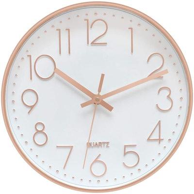 Foxtop Gold Wall Clock