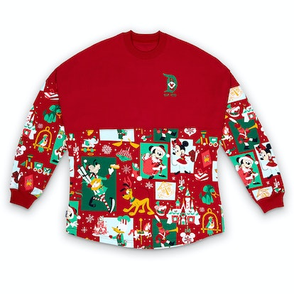 Santa Mickey Mouse and Friends Holiday Spirit Jersey for Adults – Disneyland