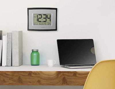 La Crosse Technology Digital Wall Clock