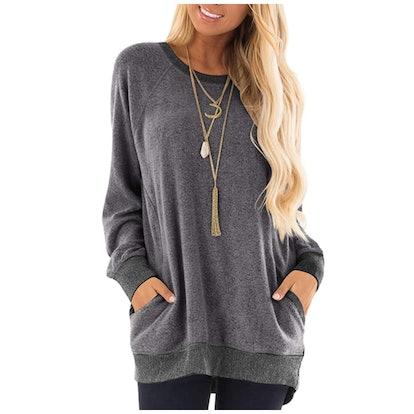 GADEWAKE Sweatshirt with Pockets