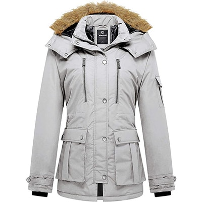 Wantdo Parka With Removable Hood