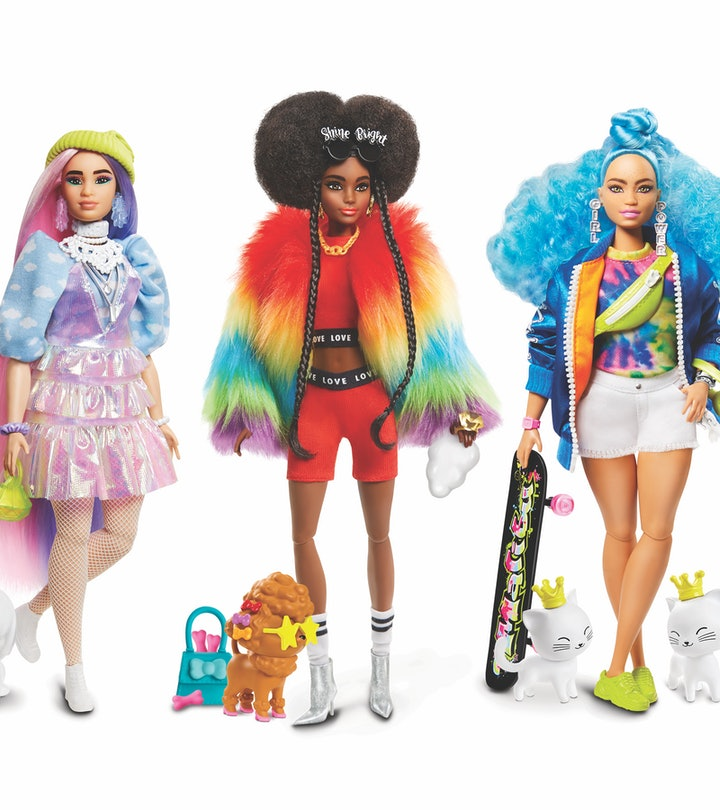 These Barbies are extra.