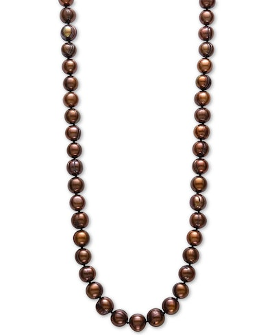 """Freshwater Pearl (9-1/2mm) 18"""" Collar Necklace"""
