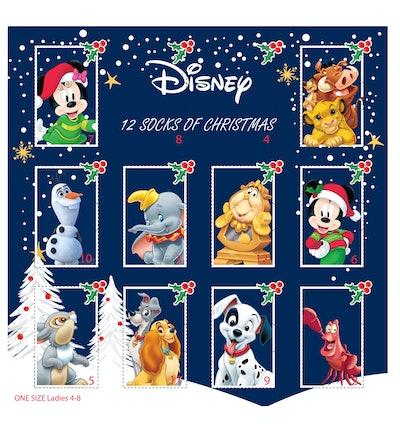 Disney Ladies Sock Advent Calendar