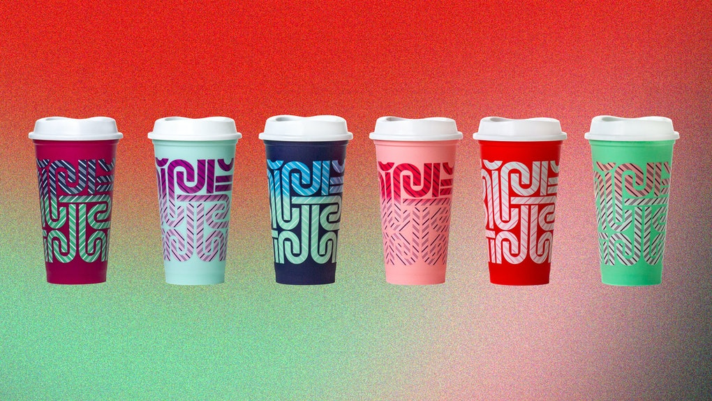 Starbucks released some color-changing cups for the 2020 holiday season.
